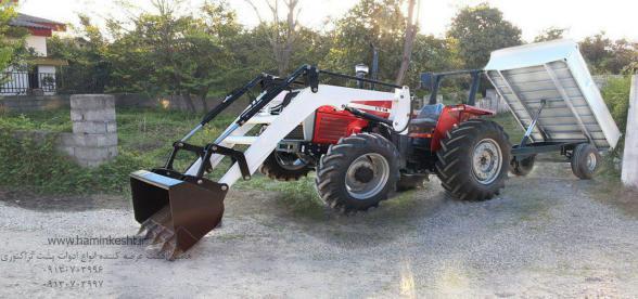 فروش و تولید انواع بیل های لودری